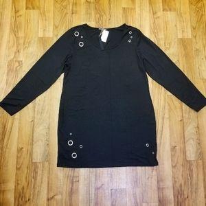 Black Mini Dress 3x - Moral Fiber
